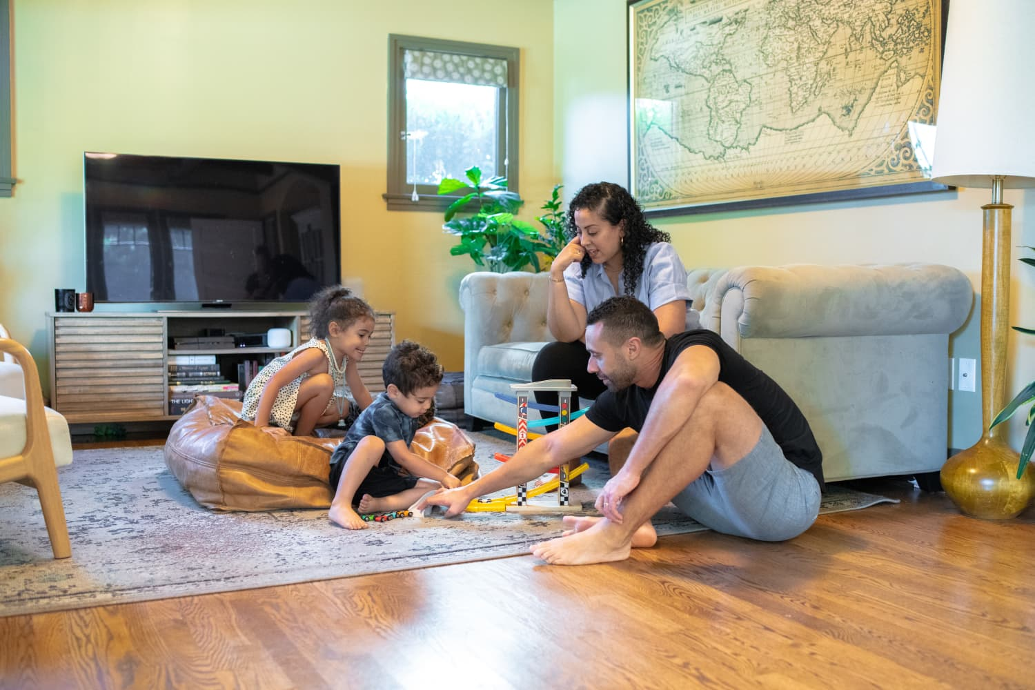 My Healthy Home: An Epidemiologist and Her Family Made a Temporary Home in a 1,600-Square-Foot Craftsman Bungalow