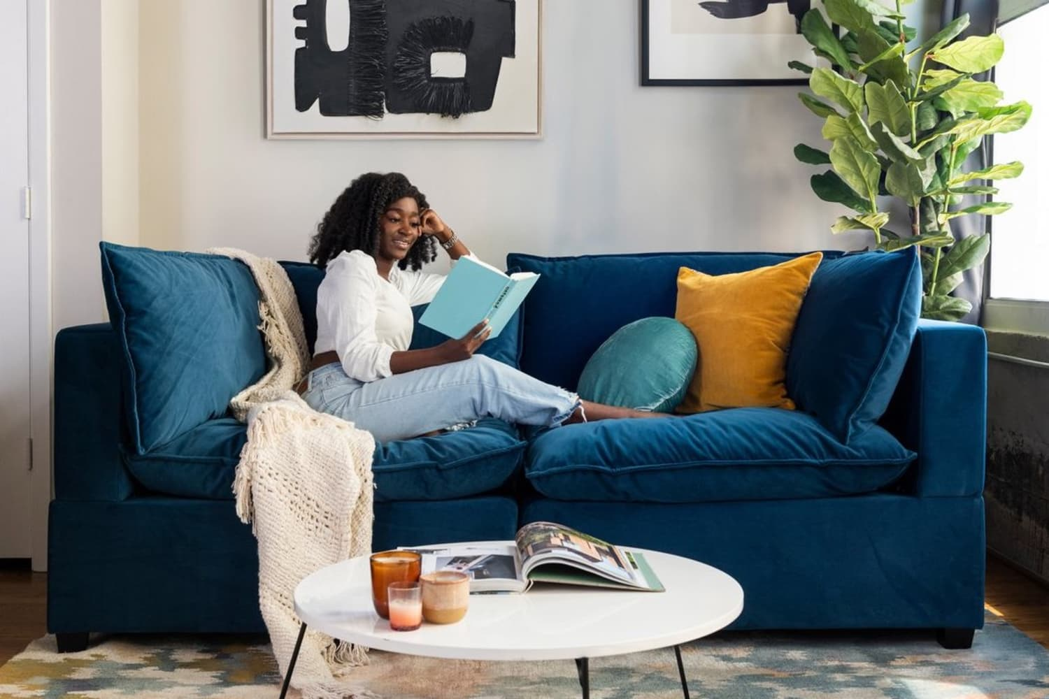 I Switched from a Traditional Sofa to This Super Cozy Sectional and I'm Never Going Back — Here's Why