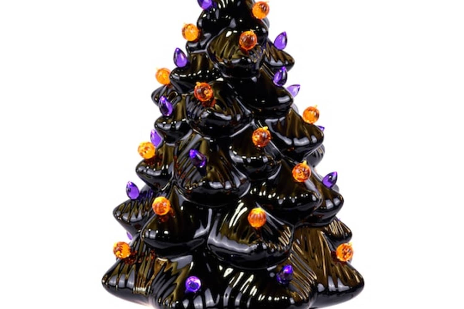 Michaels Ceramic Halloween Tree Apartment Therapy