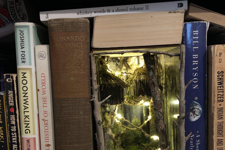 Book Nook Shelf Inserts Make Your Bookshelf Even More Magical