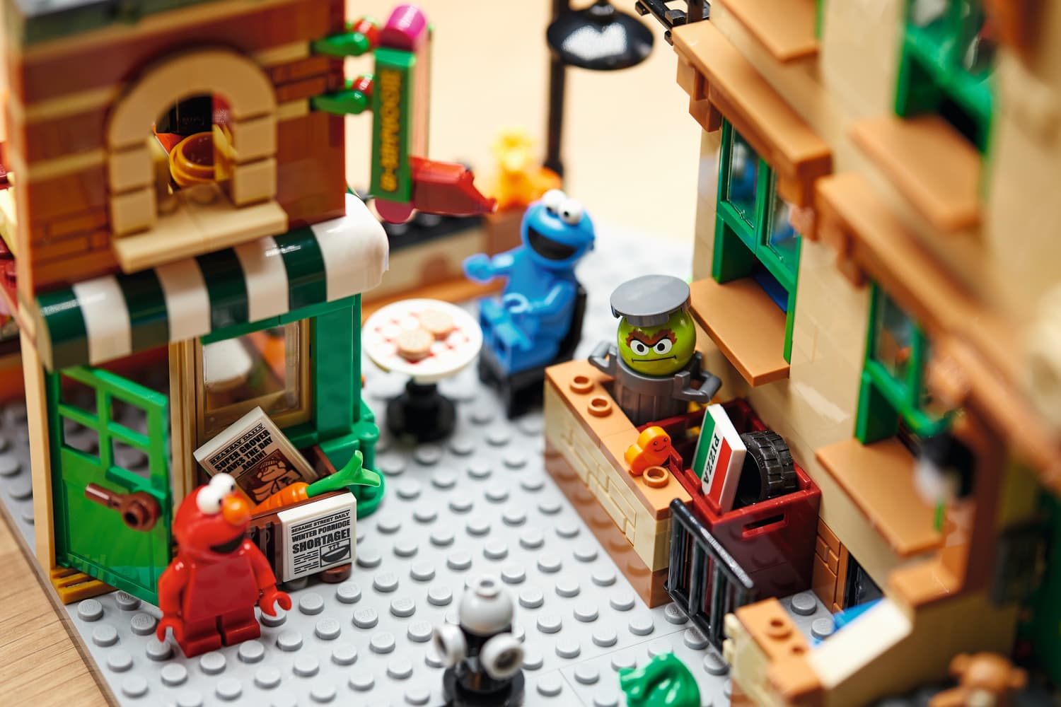 """The New """"Sesame Street"""" LEGO Set Is a Colorful Walk Down Memory Lane"""