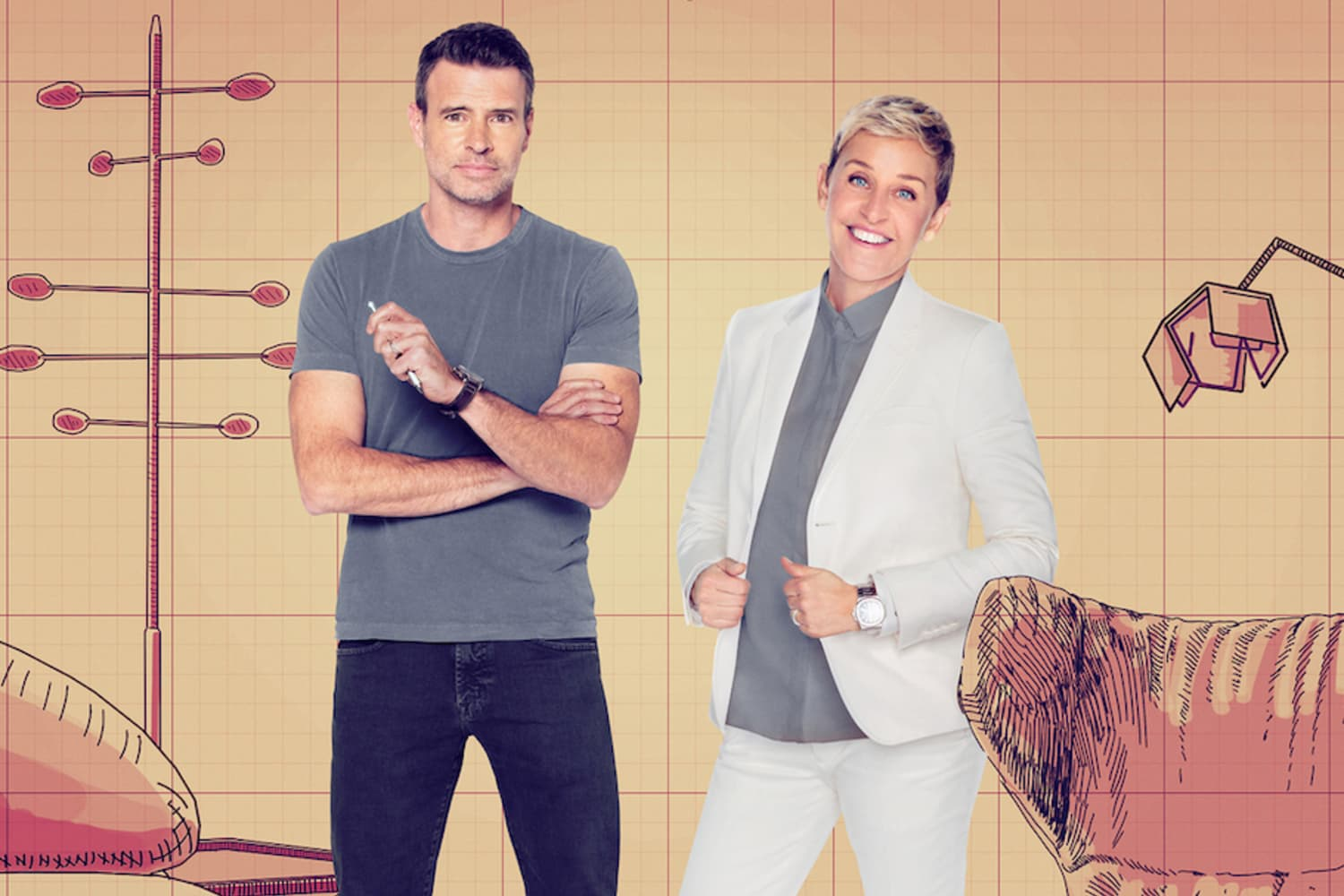 Ellen DeGeneres Has a New Furniture Design Competition Series On the Way