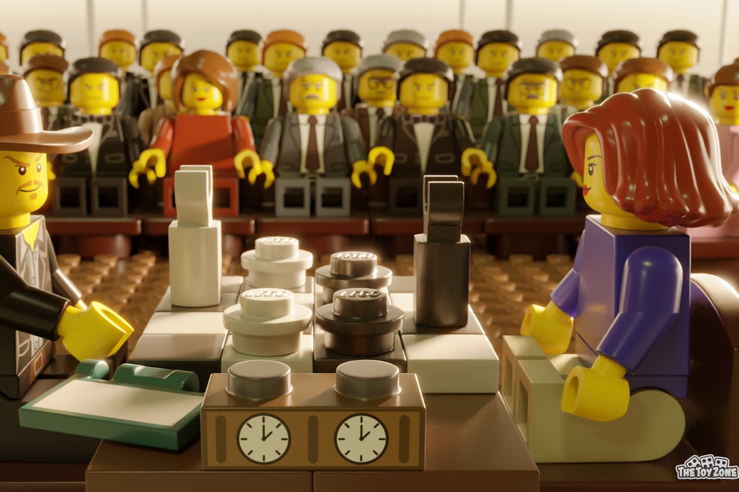 """5 Scenes From Netflix Shows Recreated As LEGOs, From """"The Queen's Gambit"""" to """"Bridgerton"""""""