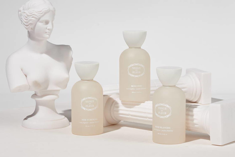 Venus ET Fleur's Luxurious New Room Fragrances Double As Perfume