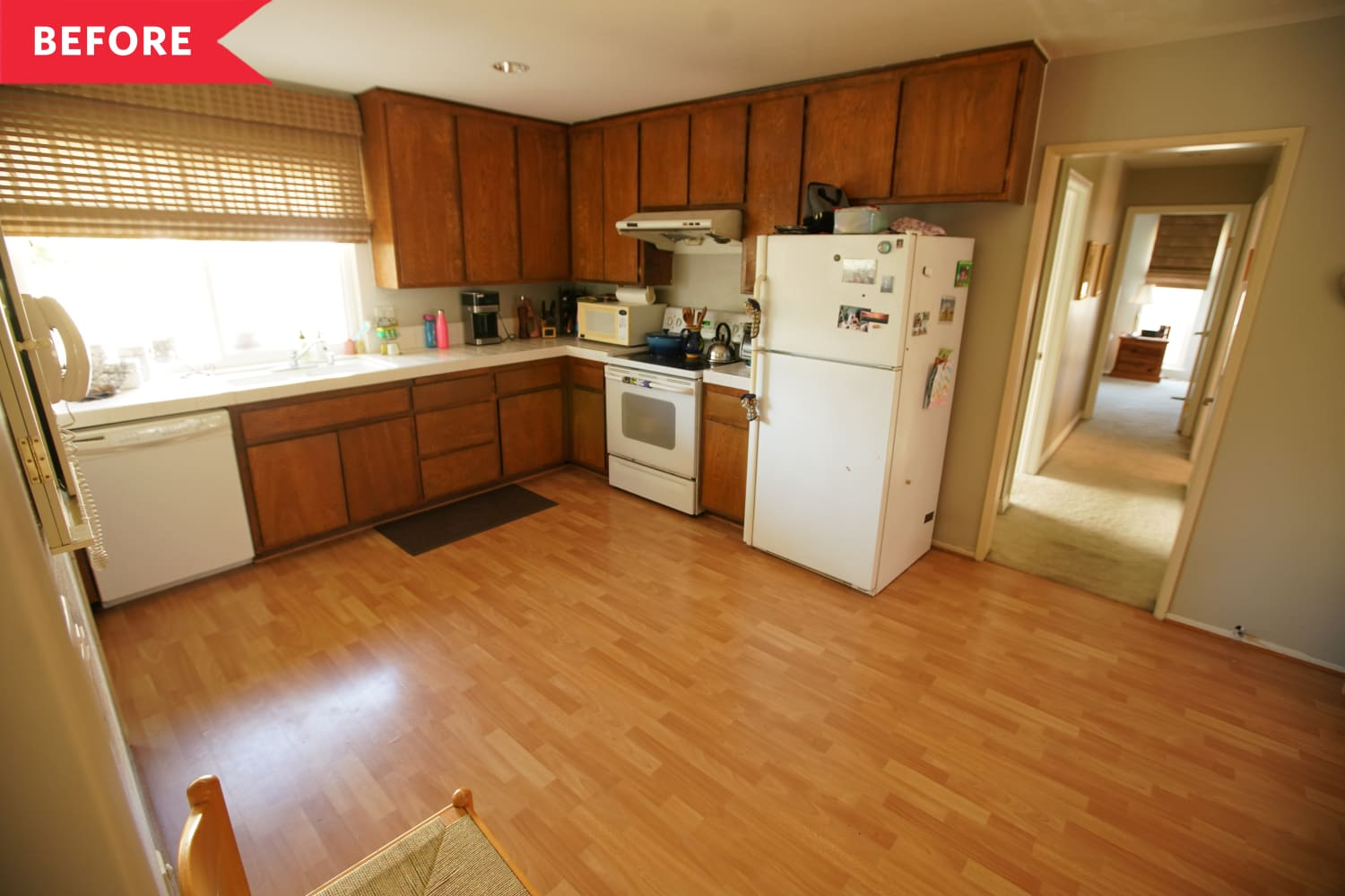 Before and After: The Property Brothers Gave This Tired 1970s Kitchen a Major Facelift