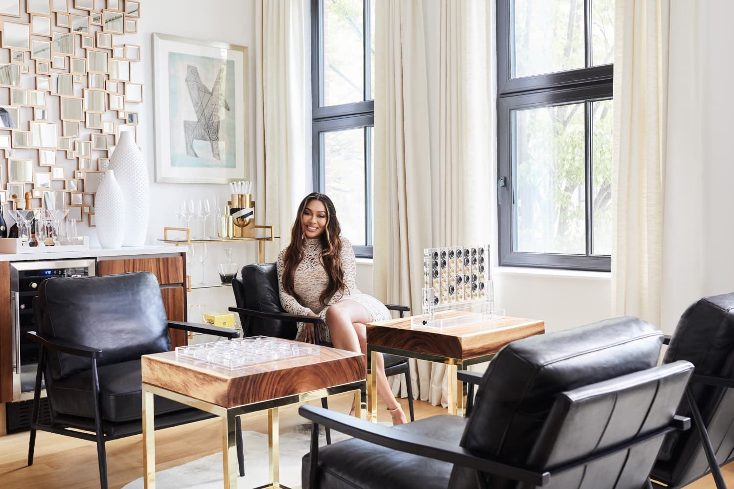"""La La Anthony's Brooklyn Home Is Filled with """"Positive Vibes"""""""