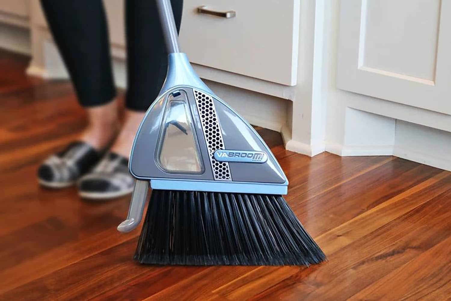 This 2-in-1 Broom Promises to Vacuum Away Your Mess (No Dustpan Needed!), So I Had to Try it For Myself