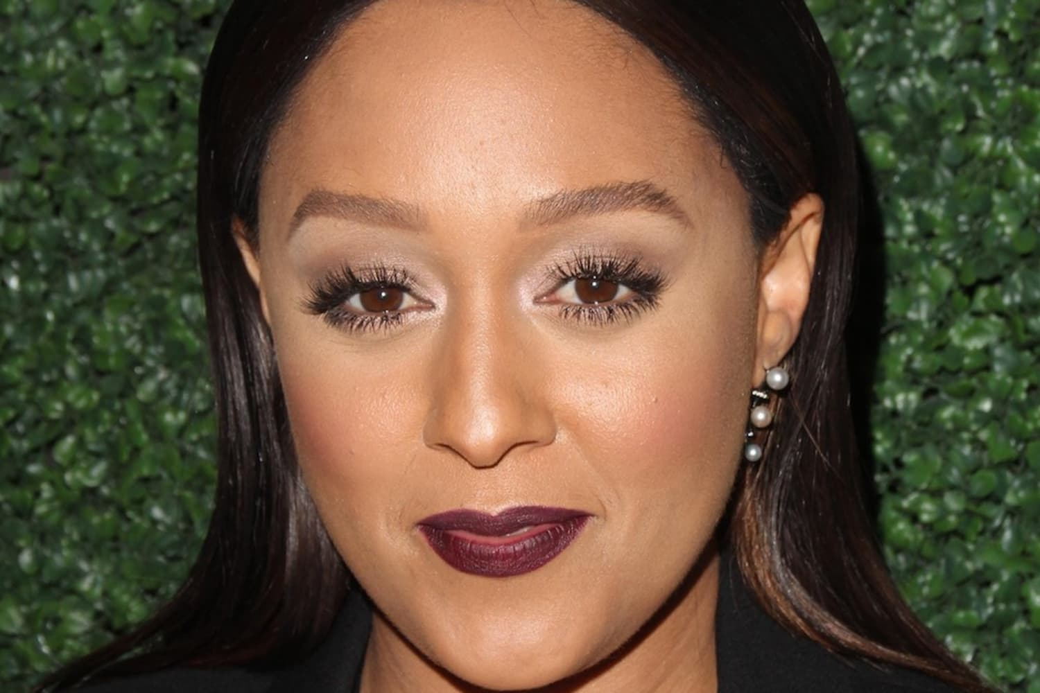 Tia Mowry Makes a Solid Case for an All-White Living Room