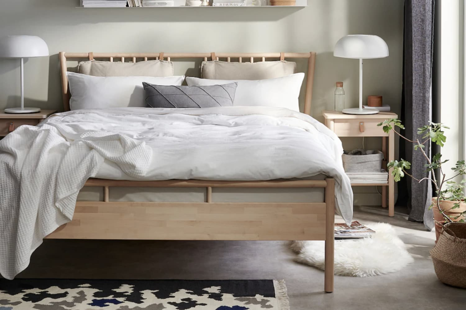 The Most Stylish Ikea Nightstand Apartment Therapy