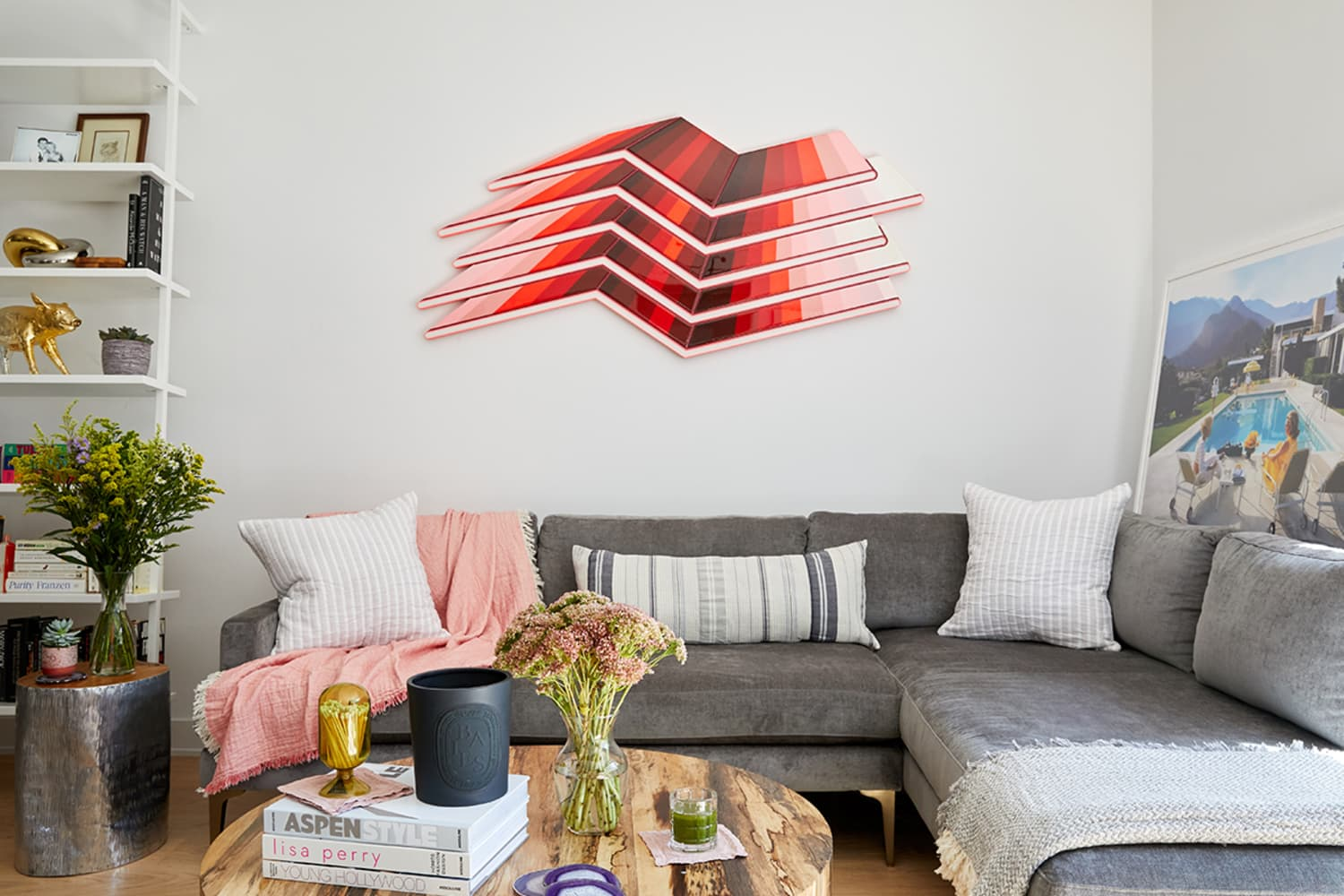 Is Renting the New Buying When It Comes to Furniture? This NYC Influencer's Colorful Living Room Just Might Change Your Answer