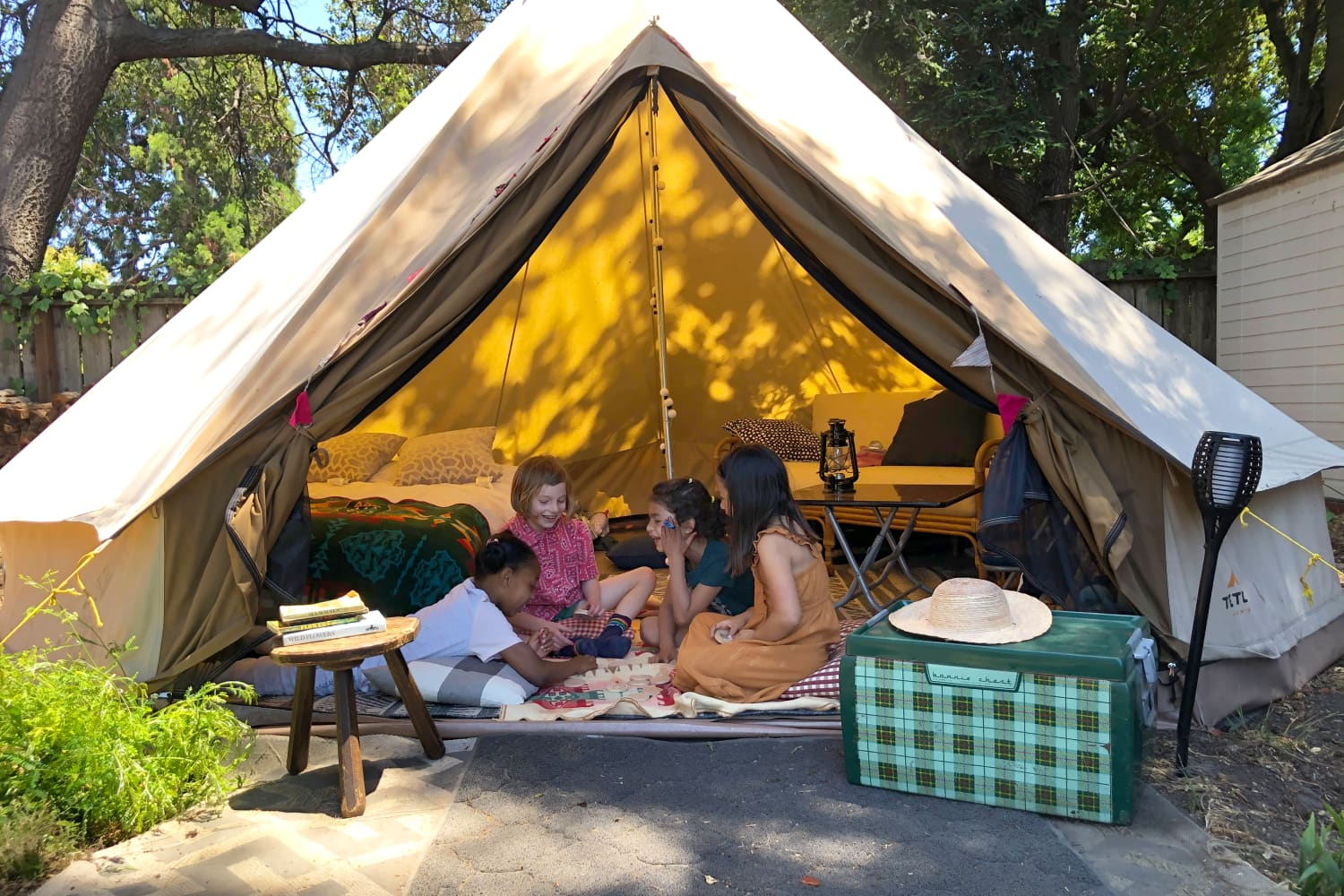 My Plan for a Very Memorable At-Home Campout