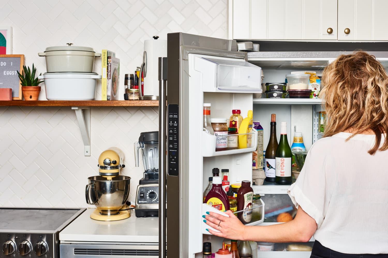 This Under-$25 Storage Solution Turns Any Fridge Into a Wine Fridge
