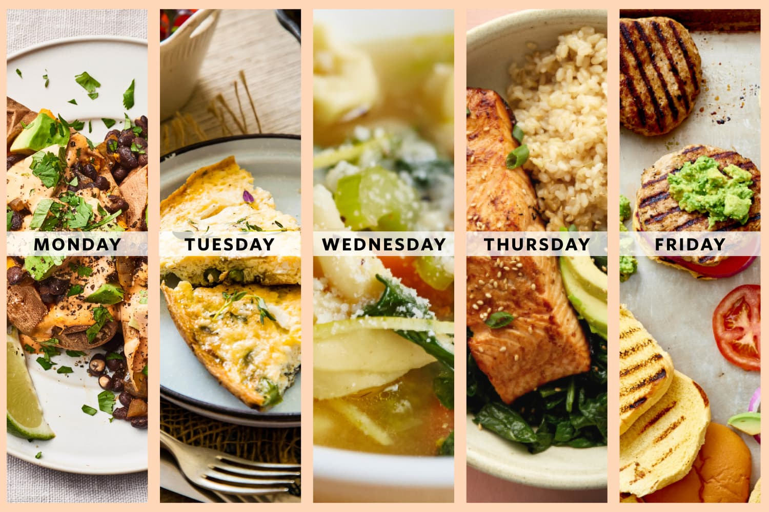 A Week of Healthy, Low-Effort Dinners for Expecting Parents