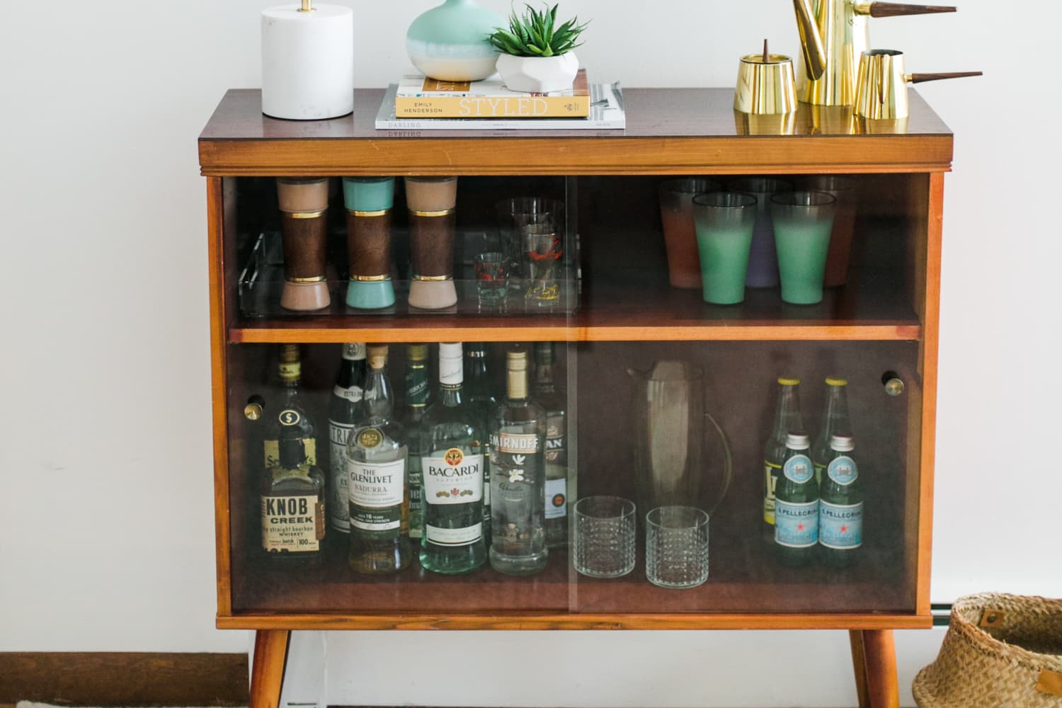 It's Official: Bar Cabinets are the New Bar Carts