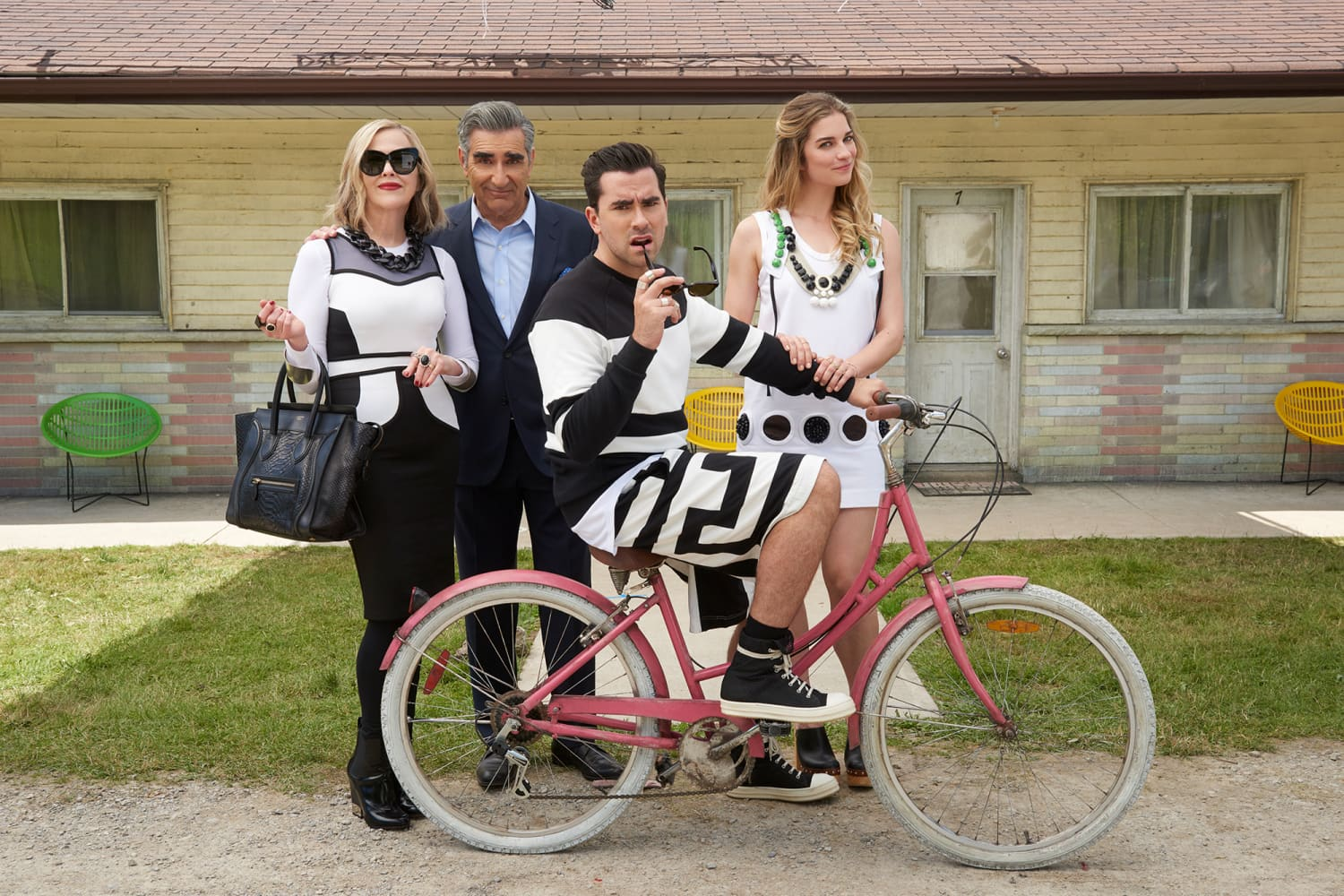 """A """"Schitt's Creek"""" Coffee Table Book Is Coming from Dan and Eugene Levy"""