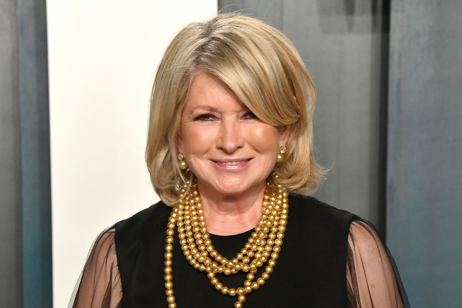 Martha Stewart's Two-Toned Kitchen Cabinets Make Gray Look Anything But Boring