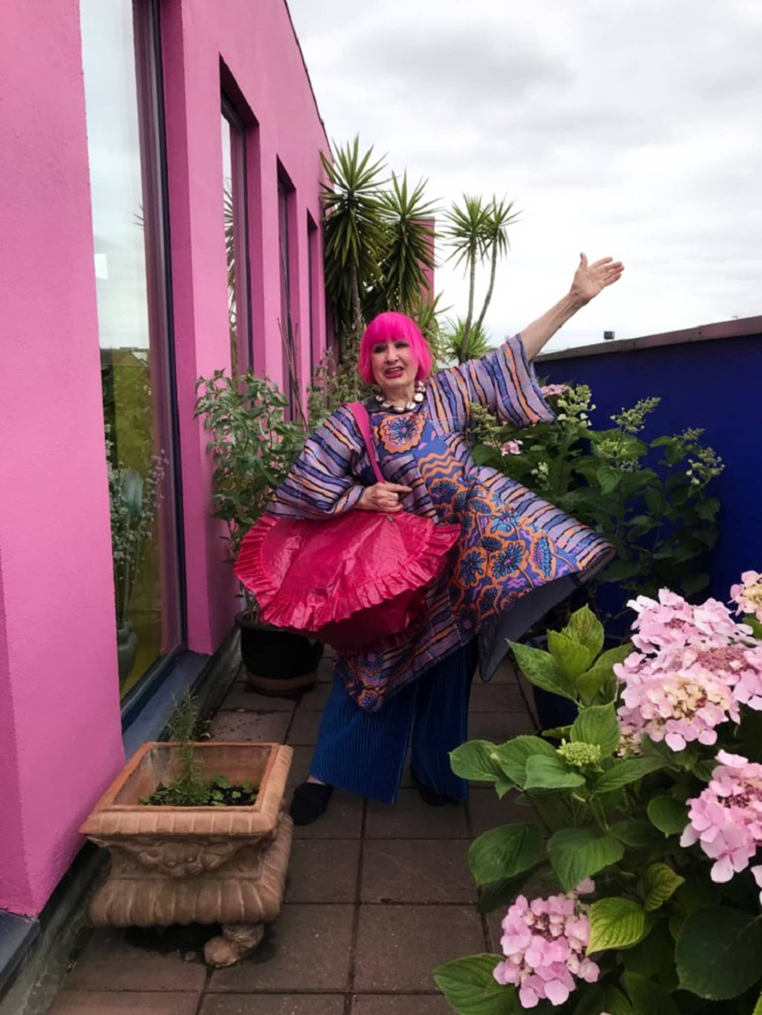 IKEA is Partnering With Iconic Fashion Designer Zandra Rhodes For Whimsical Home Products