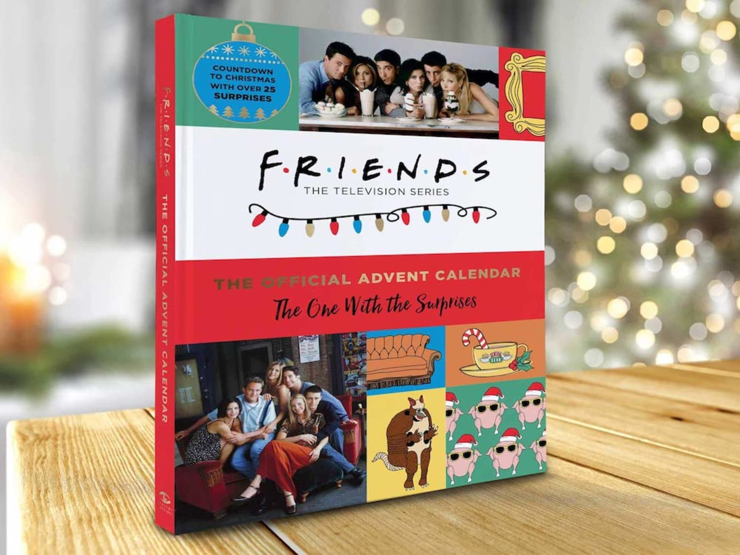 "A ""Friends"" Advent Calendar is Here, and Even the Holiday Armadillo Would Love It"