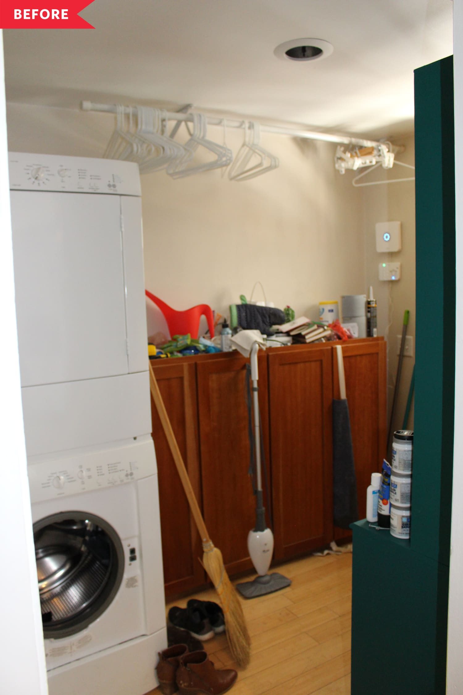 Before and After: A Dreamy IKEA Hack-Filled Laundry Room Redo for Just $500