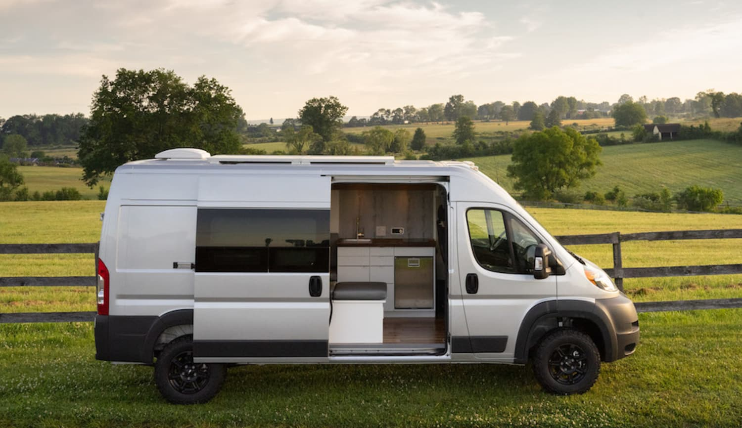 An Electric Camper Van Might Be the Living Space of an Adventurer's Dreams