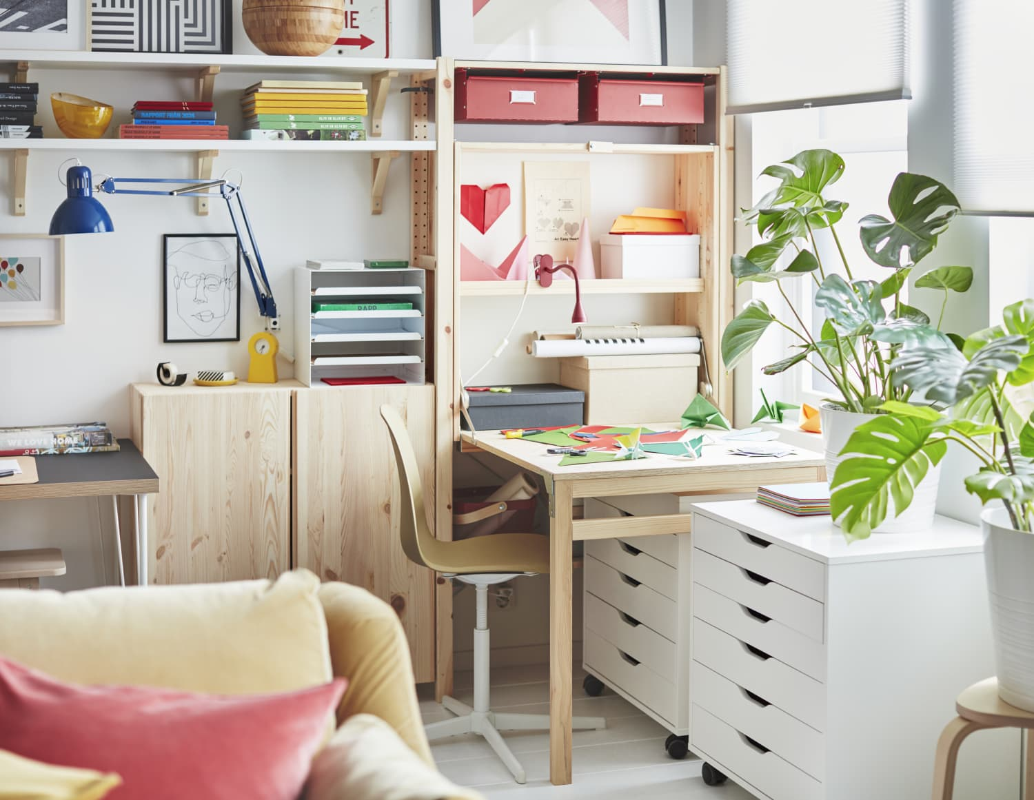 7 Genius WFH Solutions From the 2021 IKEA Catalog