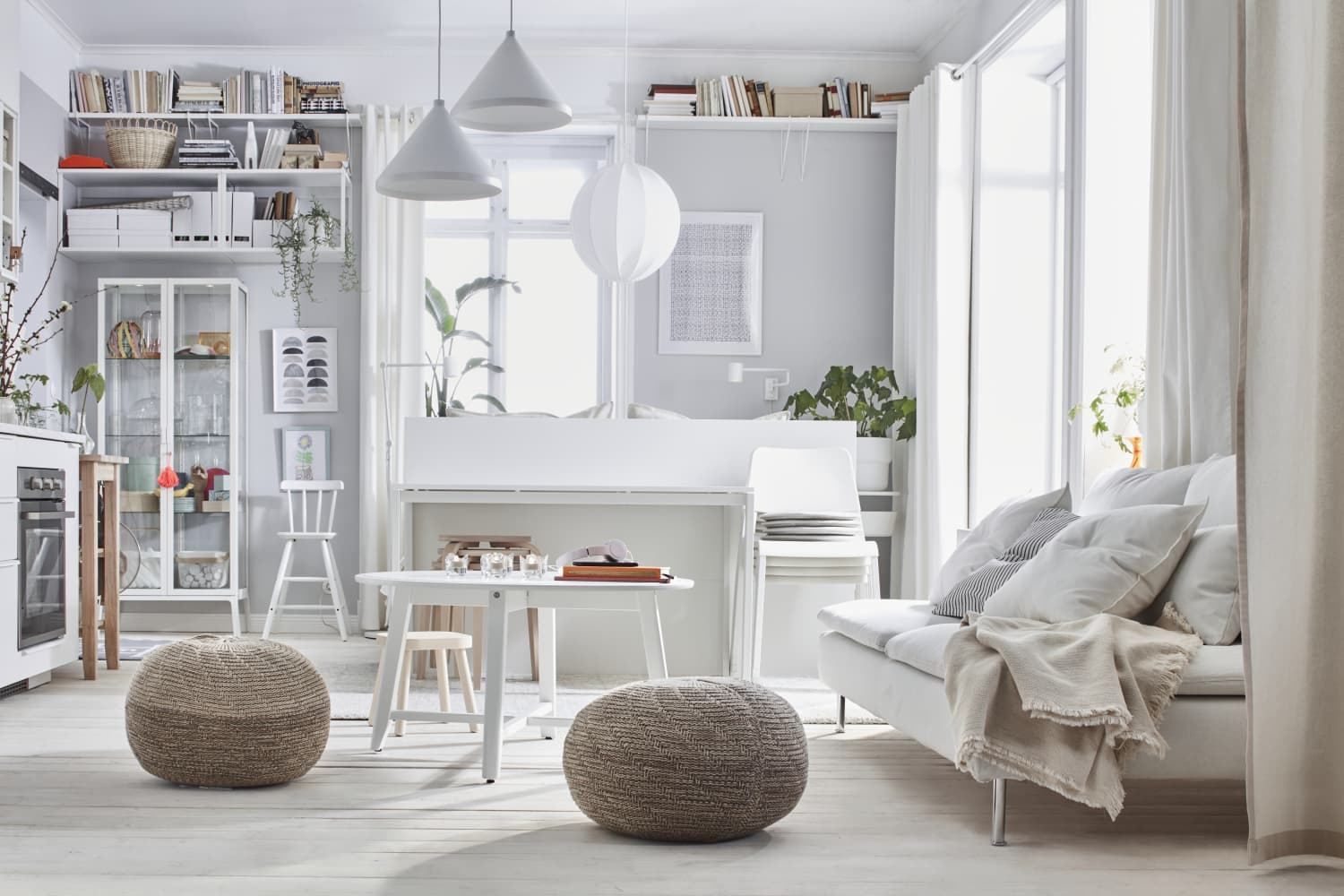 9 Brilliant Small Space Organizing Tips to Steal from the 2021 IKEA Catalog