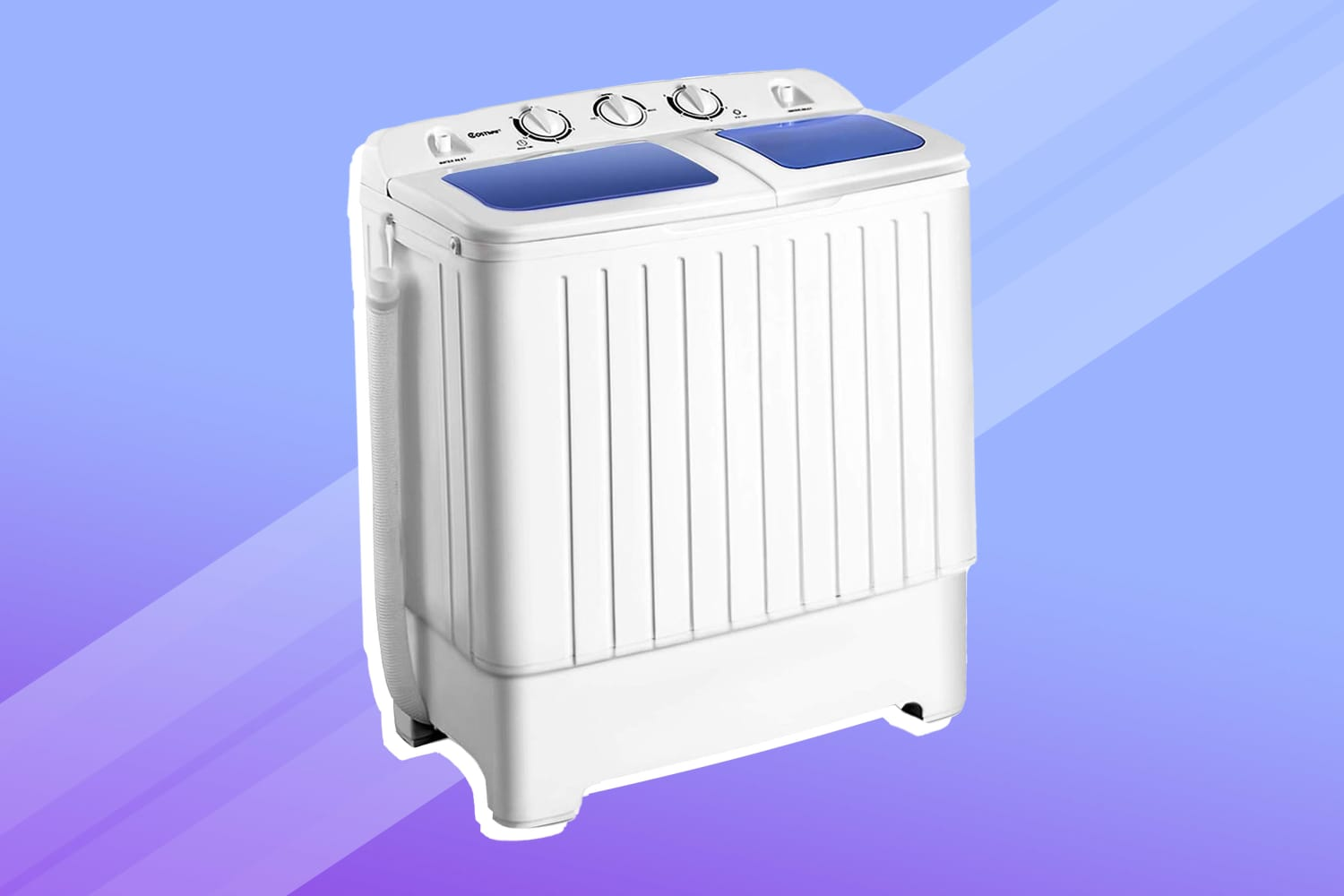 I'm Convinced This $115 Portable Washing Machine Is the Best Thing a Renter Can Buy