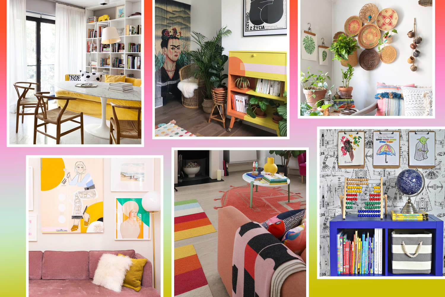 101 Ways to Add Color to Your Home