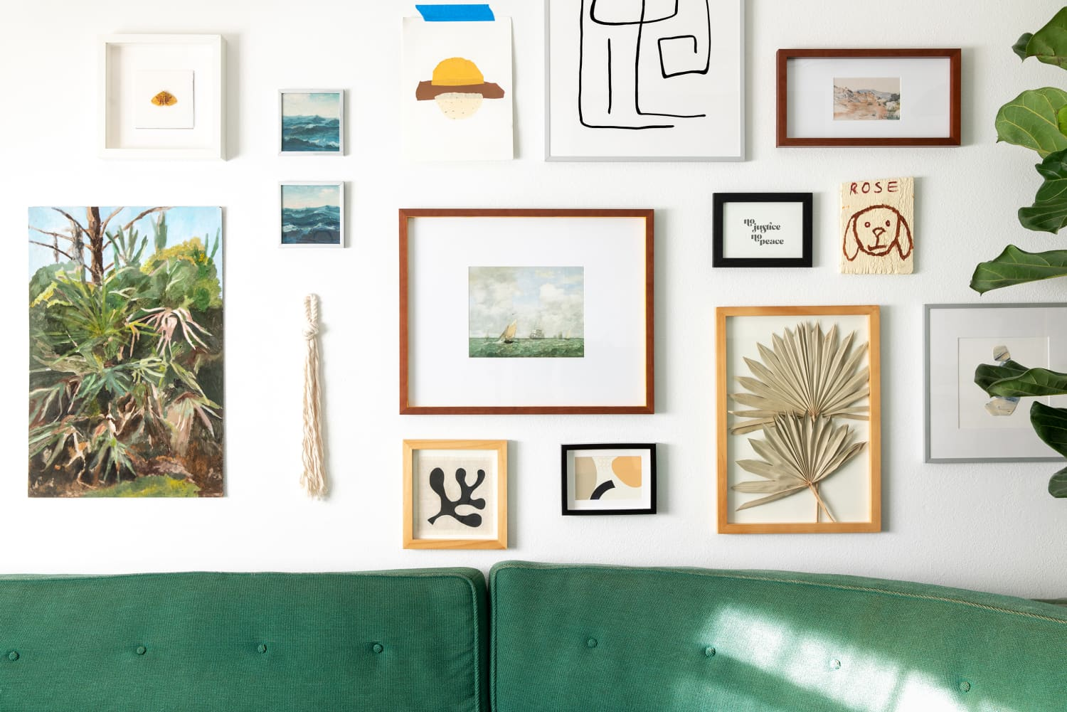 3 Easy Ways to Make Cheap Art Look More Expensive, Even if You're Not Crafty—I Promise!