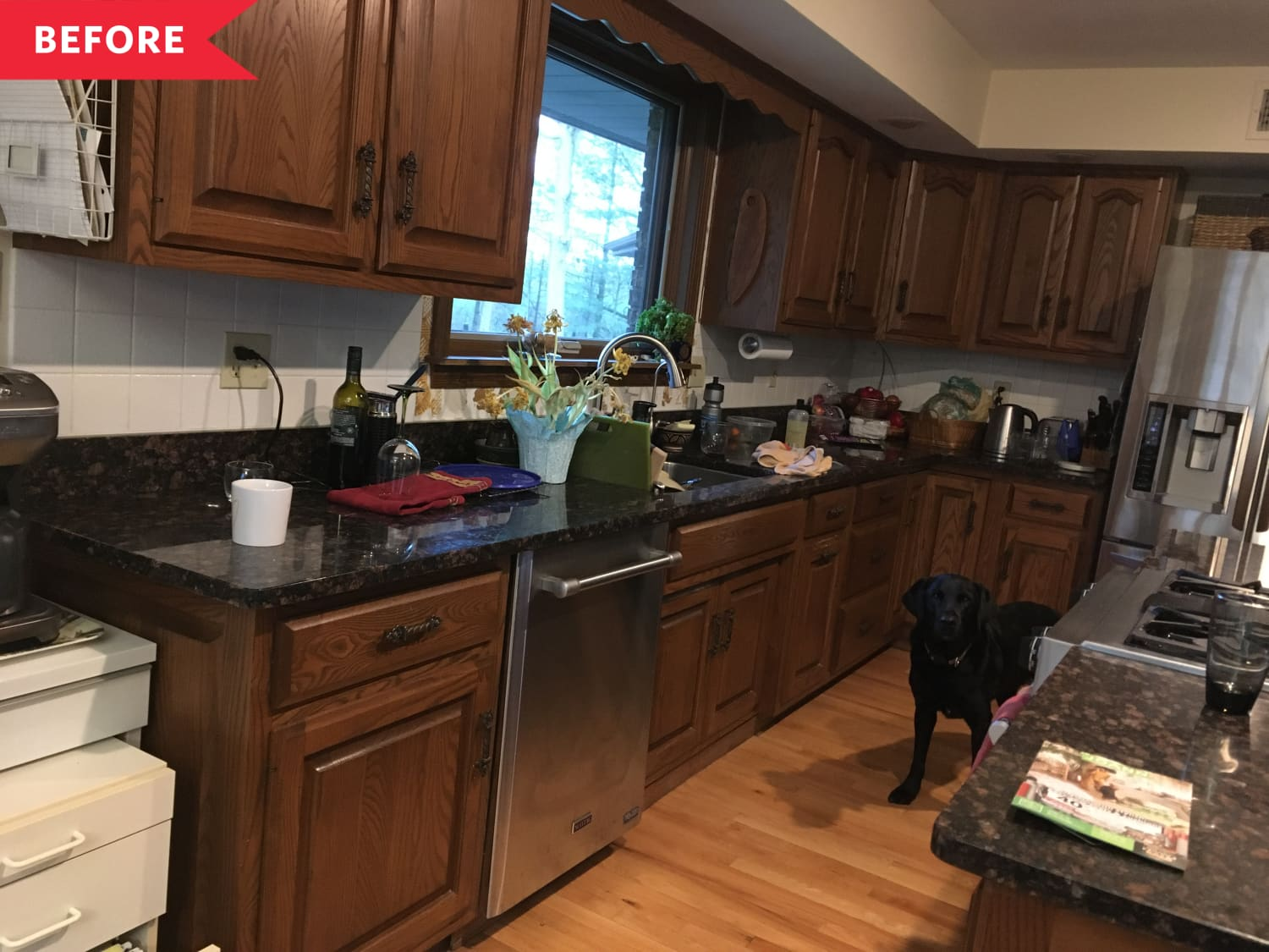 Brown 1970s Kitchen Renovation   Apartment Therapy