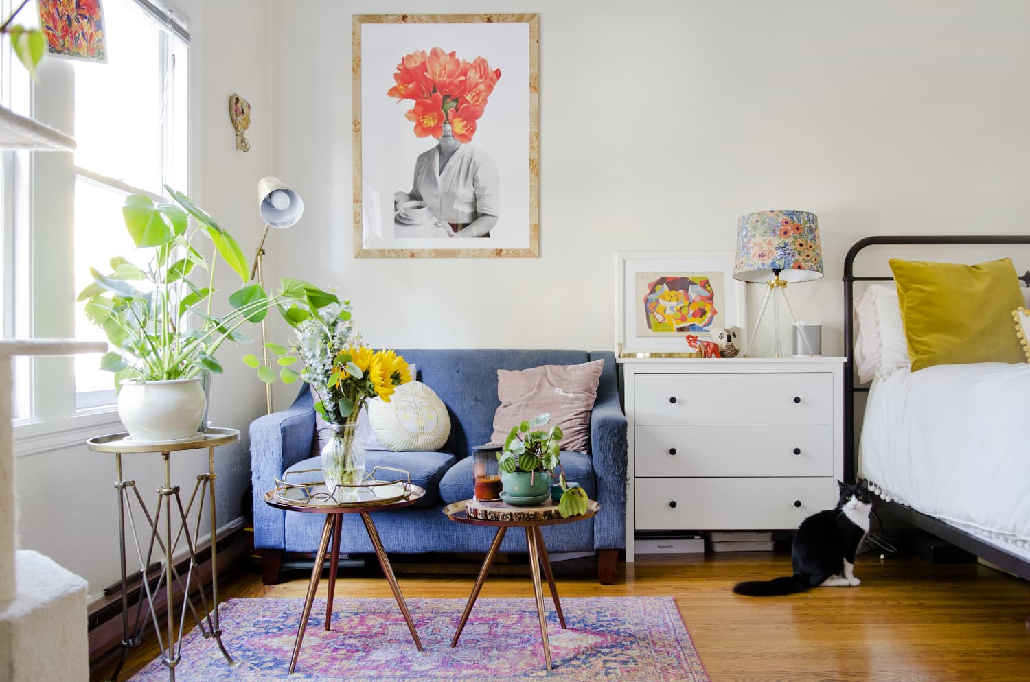 This Hidden Amazon Section Is Full of Rental-Friendly Design Hacks That Are Perfect for Small Spaces
