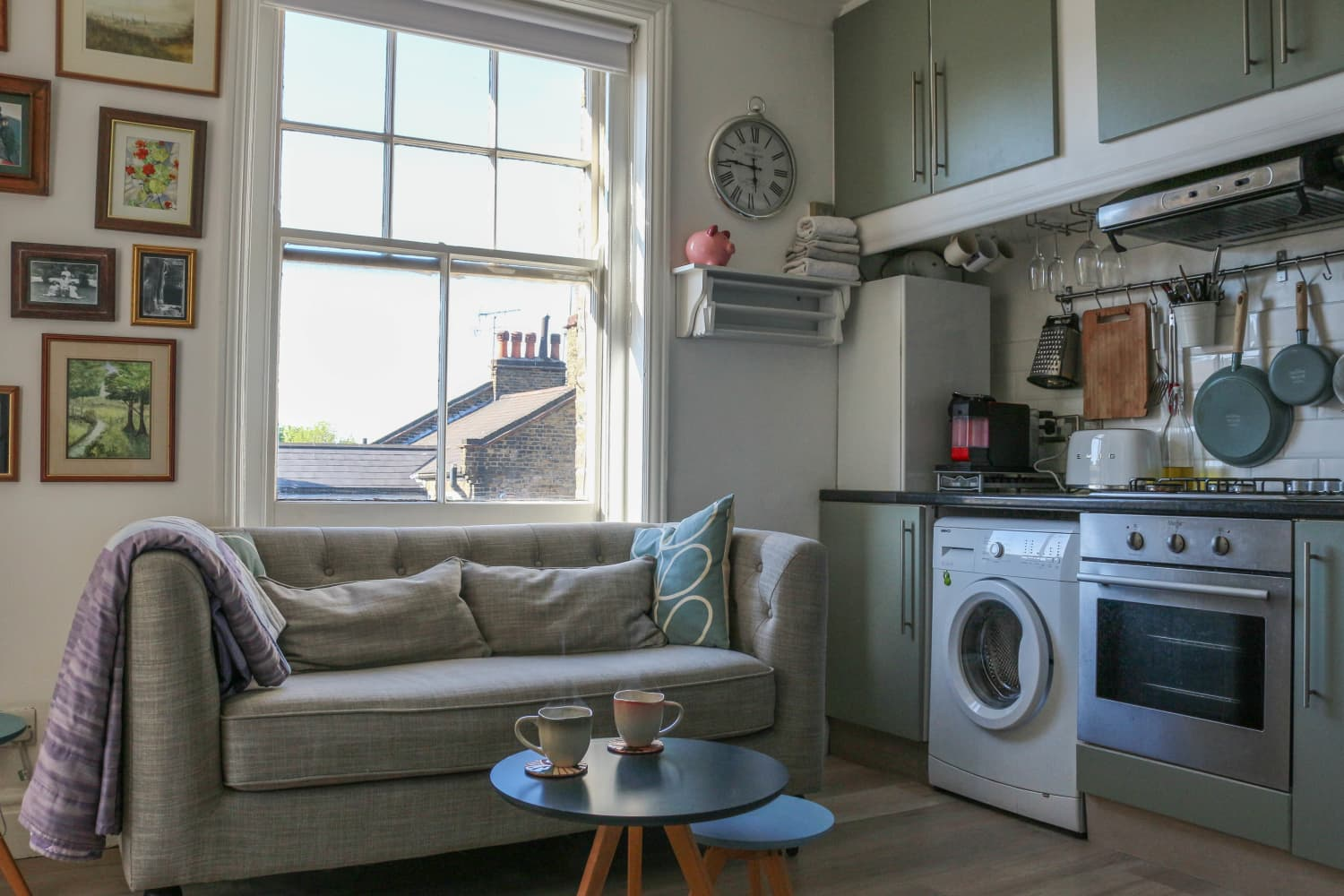 300 Square Foot Small London Flat Tour Apartment Therapy