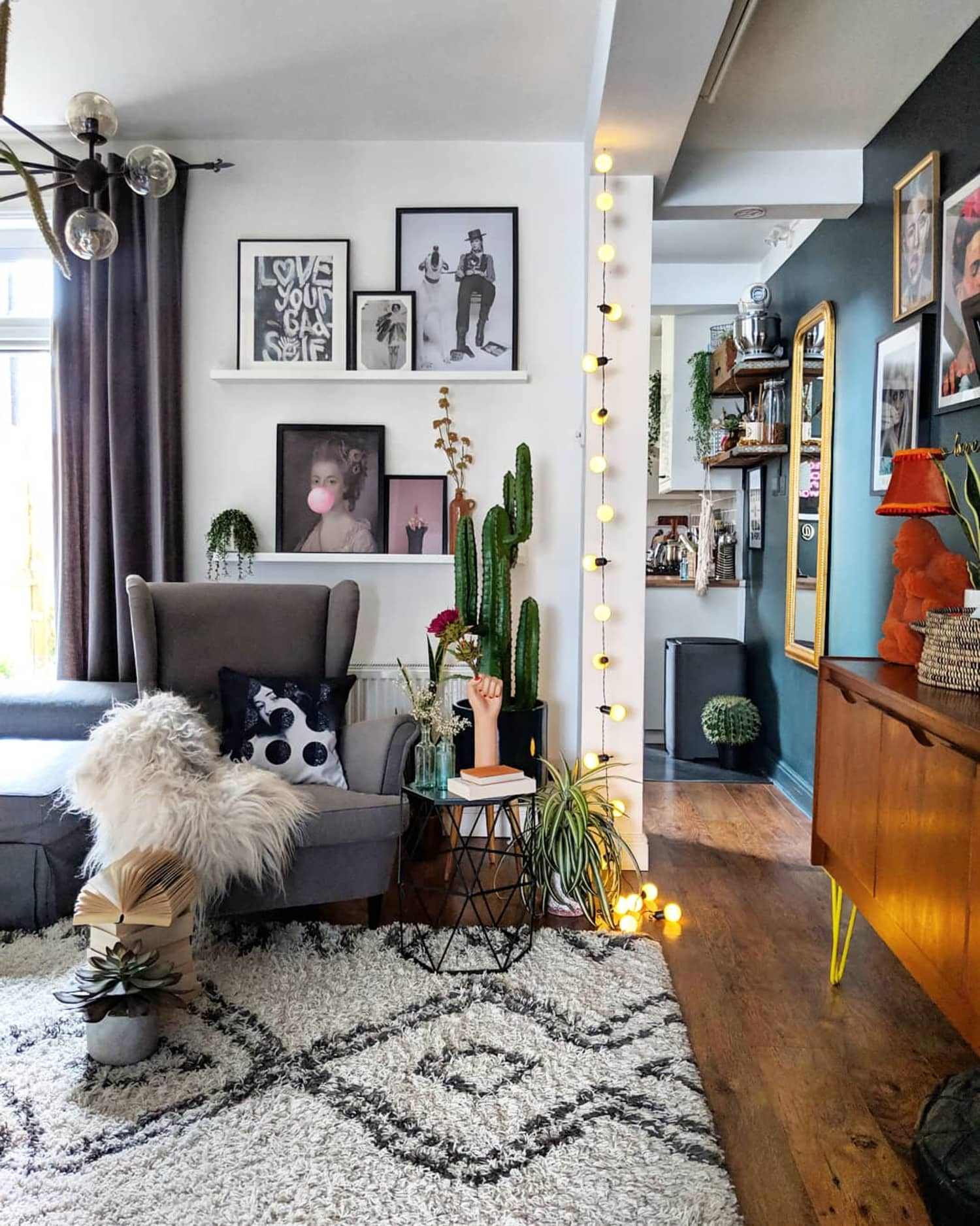 eclectic decorating ideas for small apartments intregated   Bold and Eclectic Home Decor Styling Ideas   Apartment Therapy