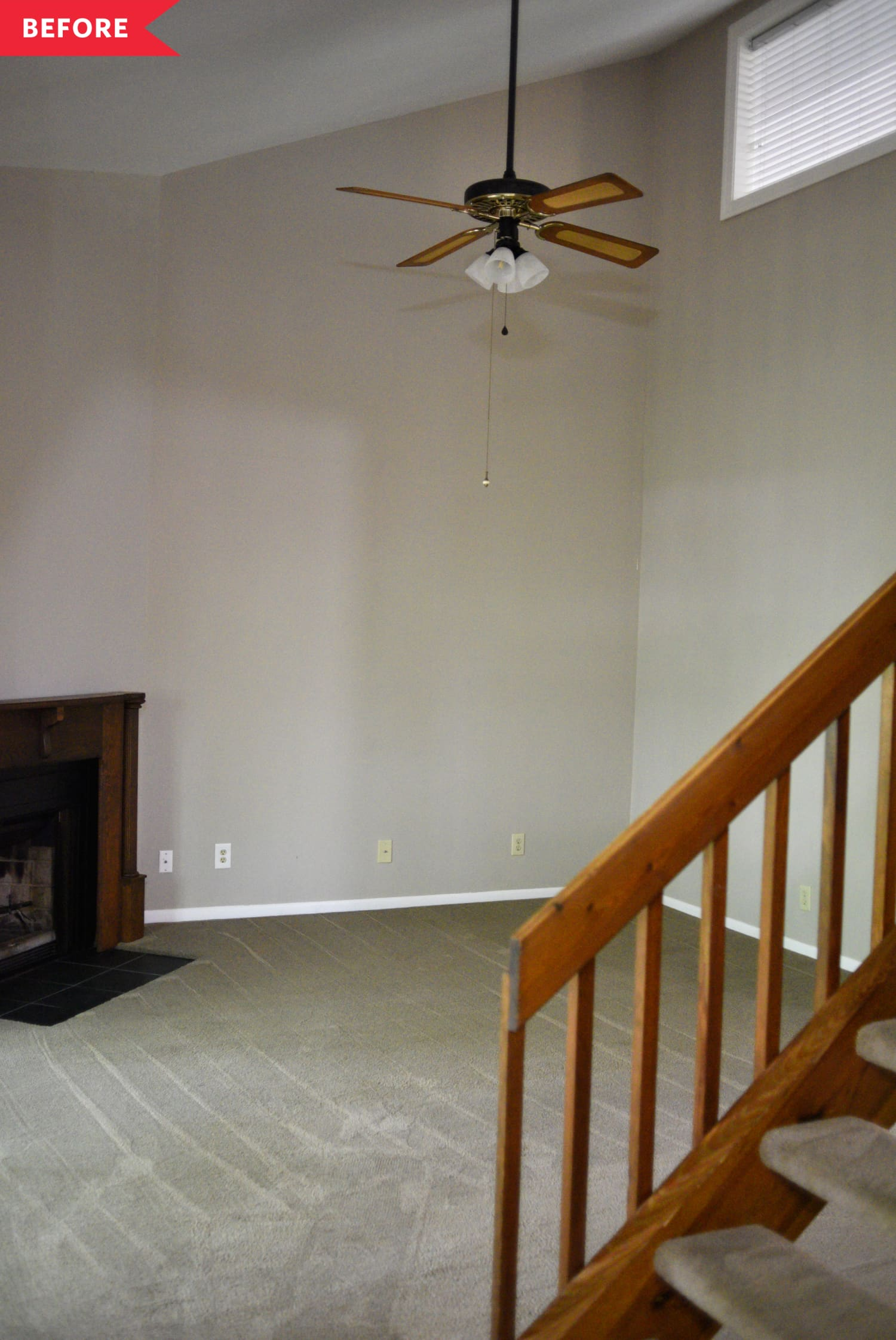 Before & After: A Boring Beige Condo Is Completely Unrecognizable After a Colorful Makeover