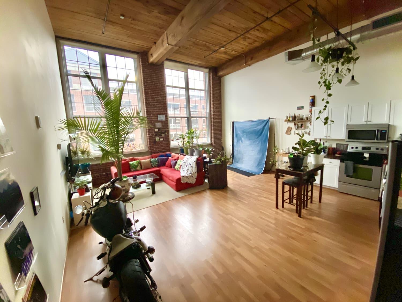 Large Boston Loft Apartment Photos | Apartment Therapy