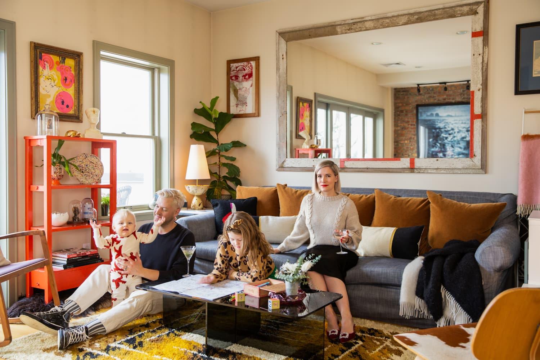 This Designer's Brooklyn Home Has A Seriously Envy-Inducing Walk-Through Closet