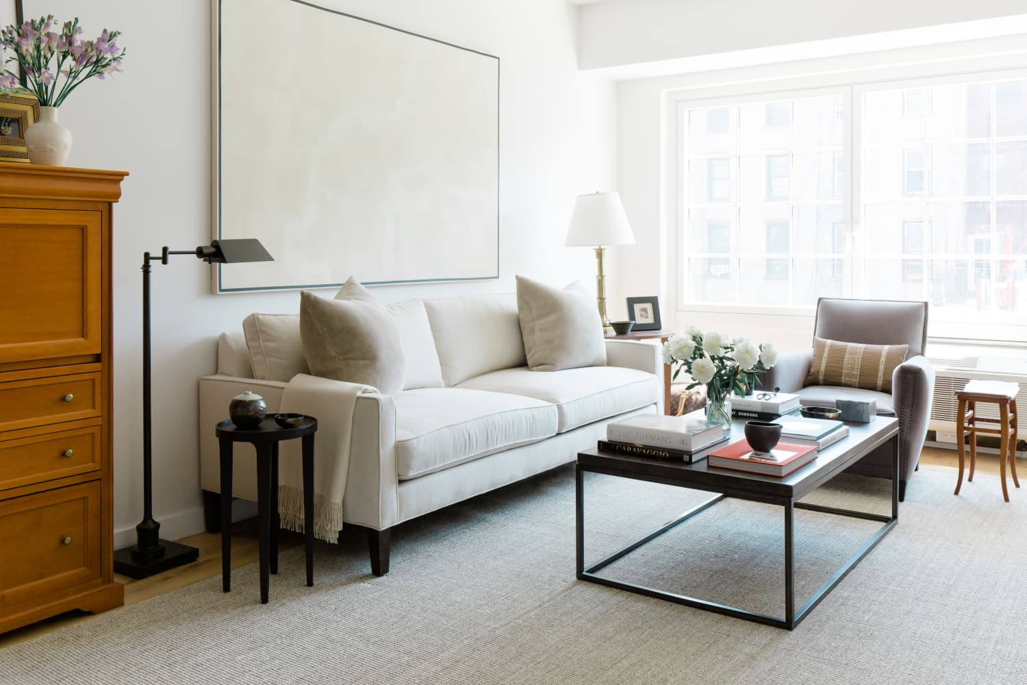 A 600-Square-Foot NYC Rental Shows How to Get a High-End Look on a Low-End Budget
