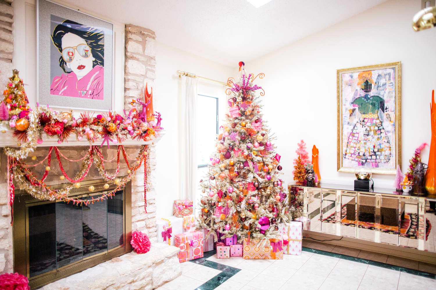 Wayfair Named This Metallic Shade the Christmas Tree Color of the Year, and It Wasn't What I Expected