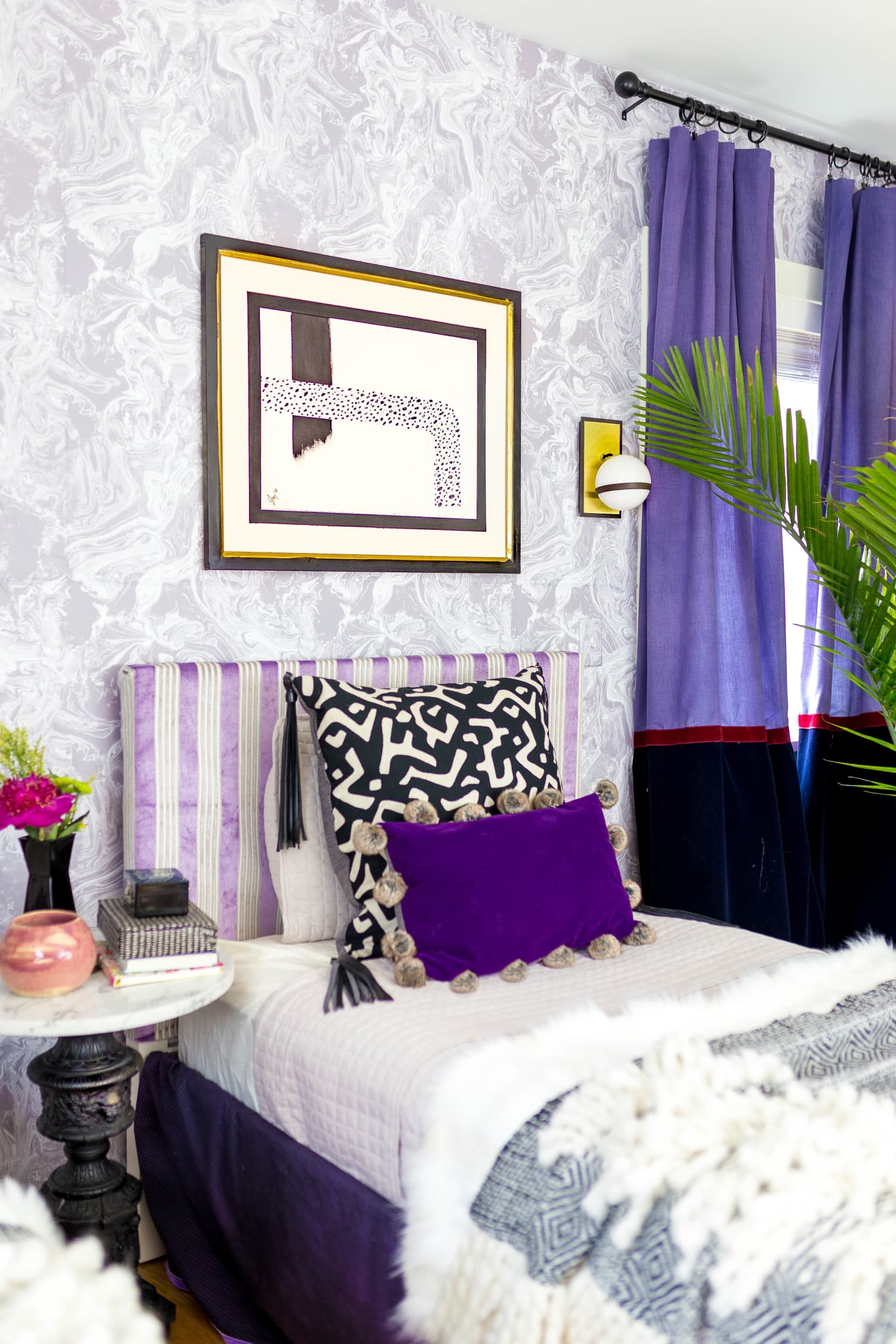 It's Official: Theses are the Best Colors to Use With Purple