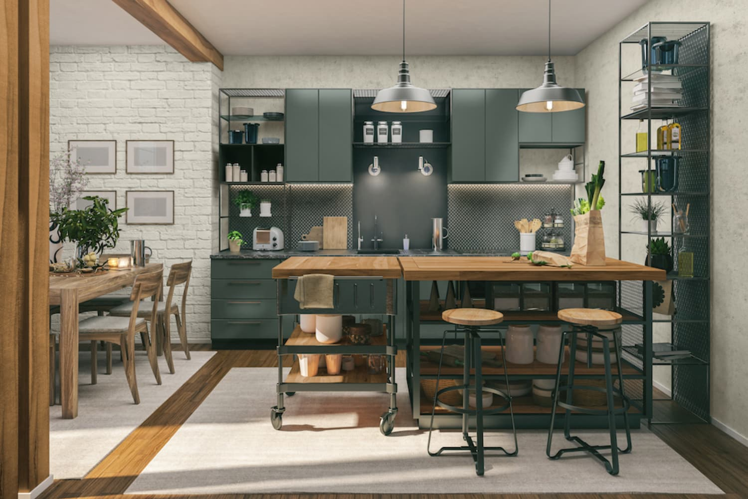 Joanna Gaines Released Her 4 Favorite Kitchen Color Combinations For Fall