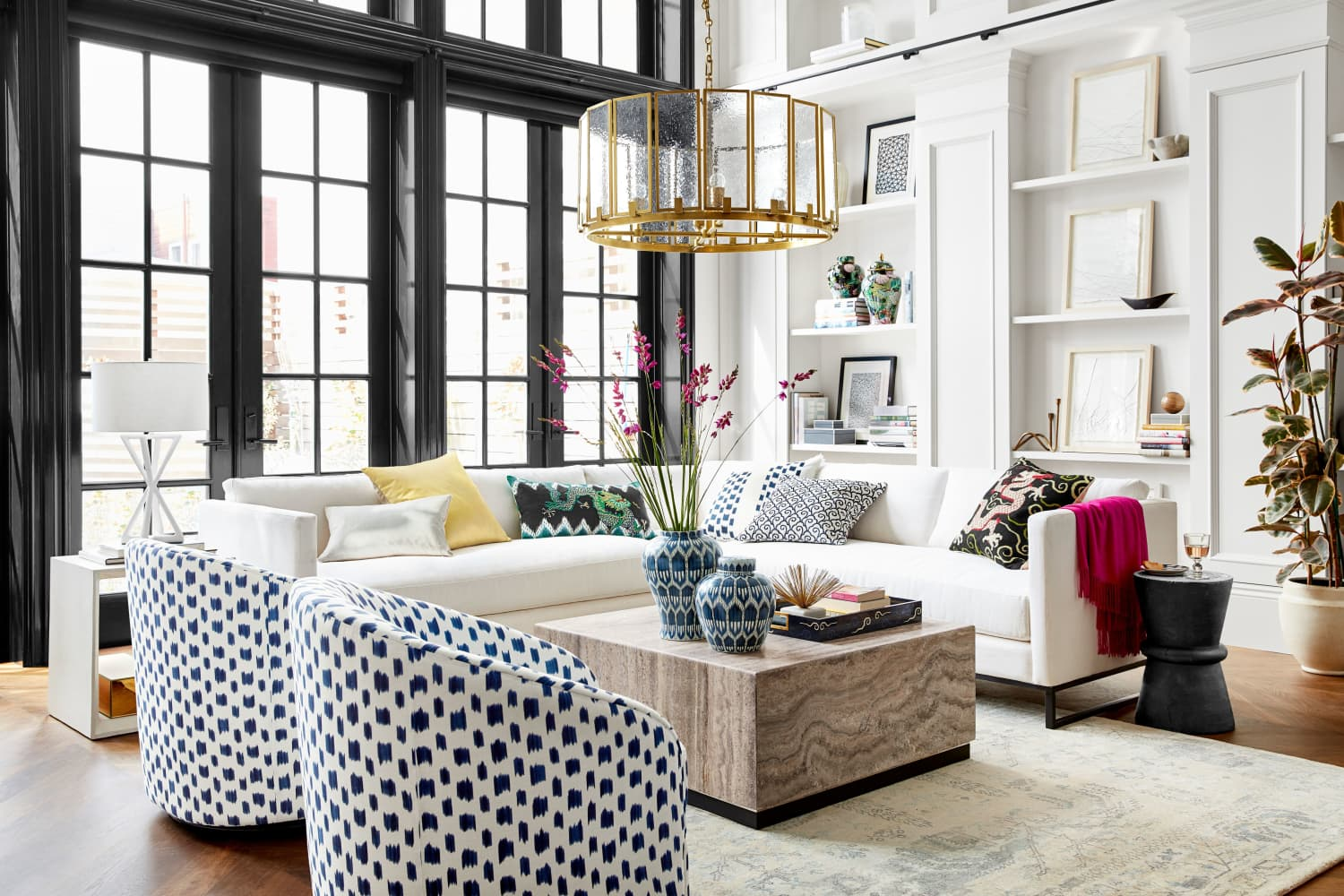 Schumacher X Williams Sonoma Collection Apartment Therapy