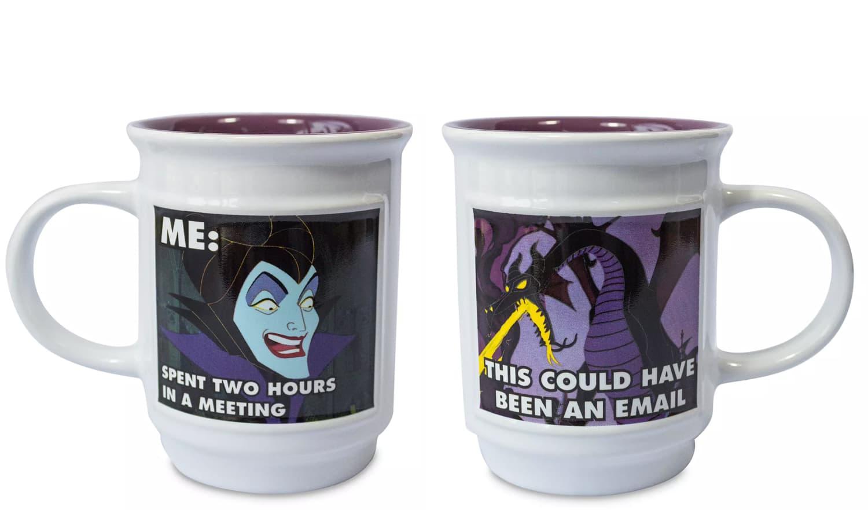 Disney Now Has Mugs That Turn Villains Into Super Relatable Memes