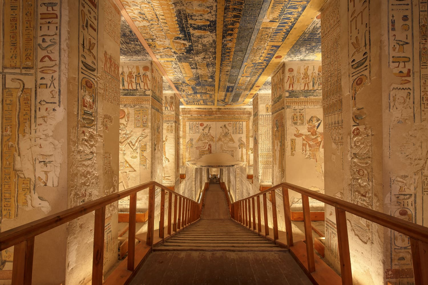 You Can Virtually Tour The Egyptian Tomb Of Pharaoh Ramses VI