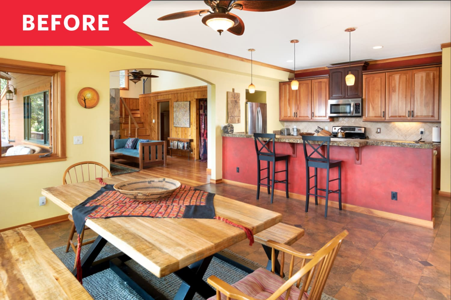 Before and After: See How a Bright Home Staging Job Helped a Place Sell in 3 Days
