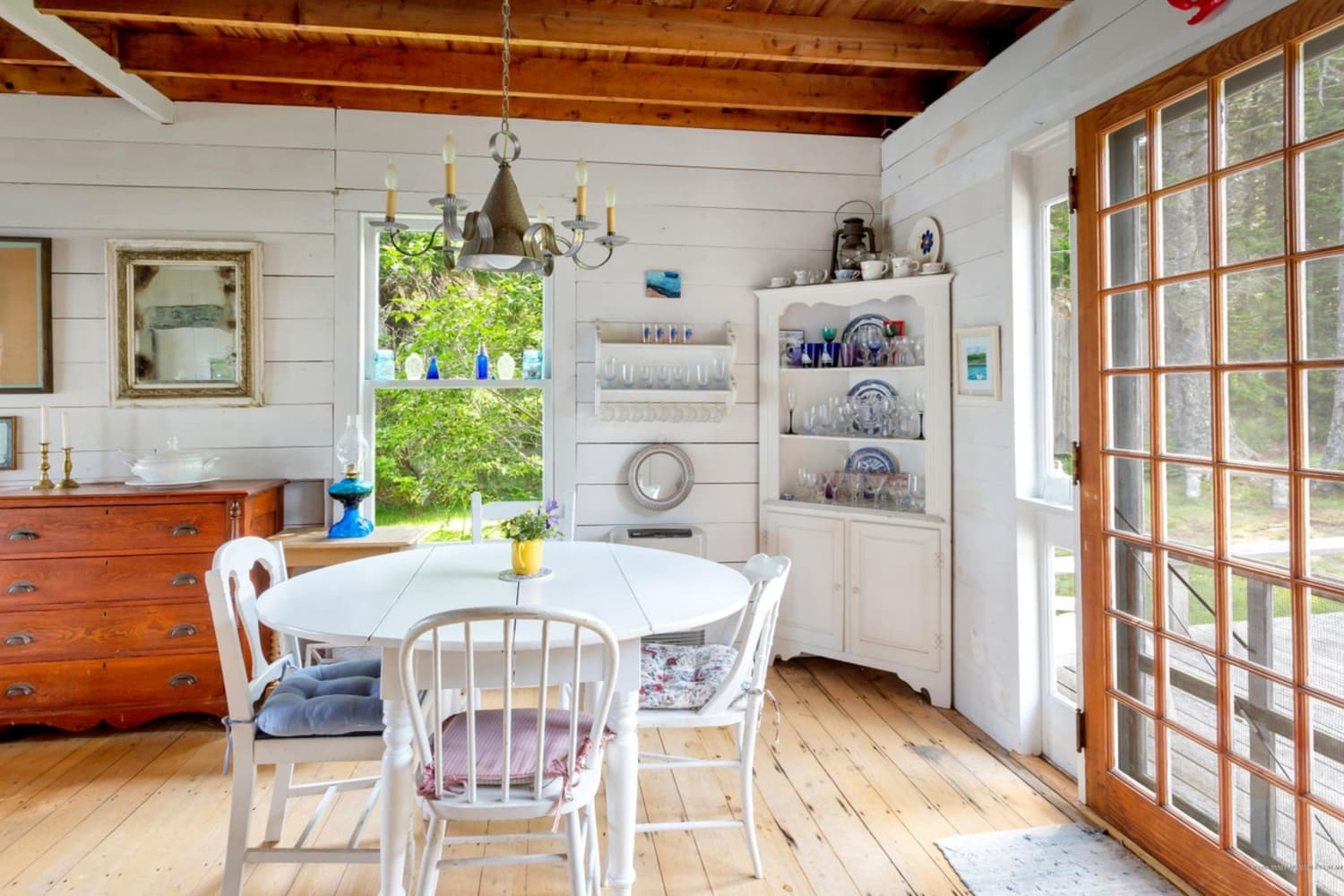 Look Inside: The Cutest Summer Cottage You've Ever Seen Is for Sale in Maine