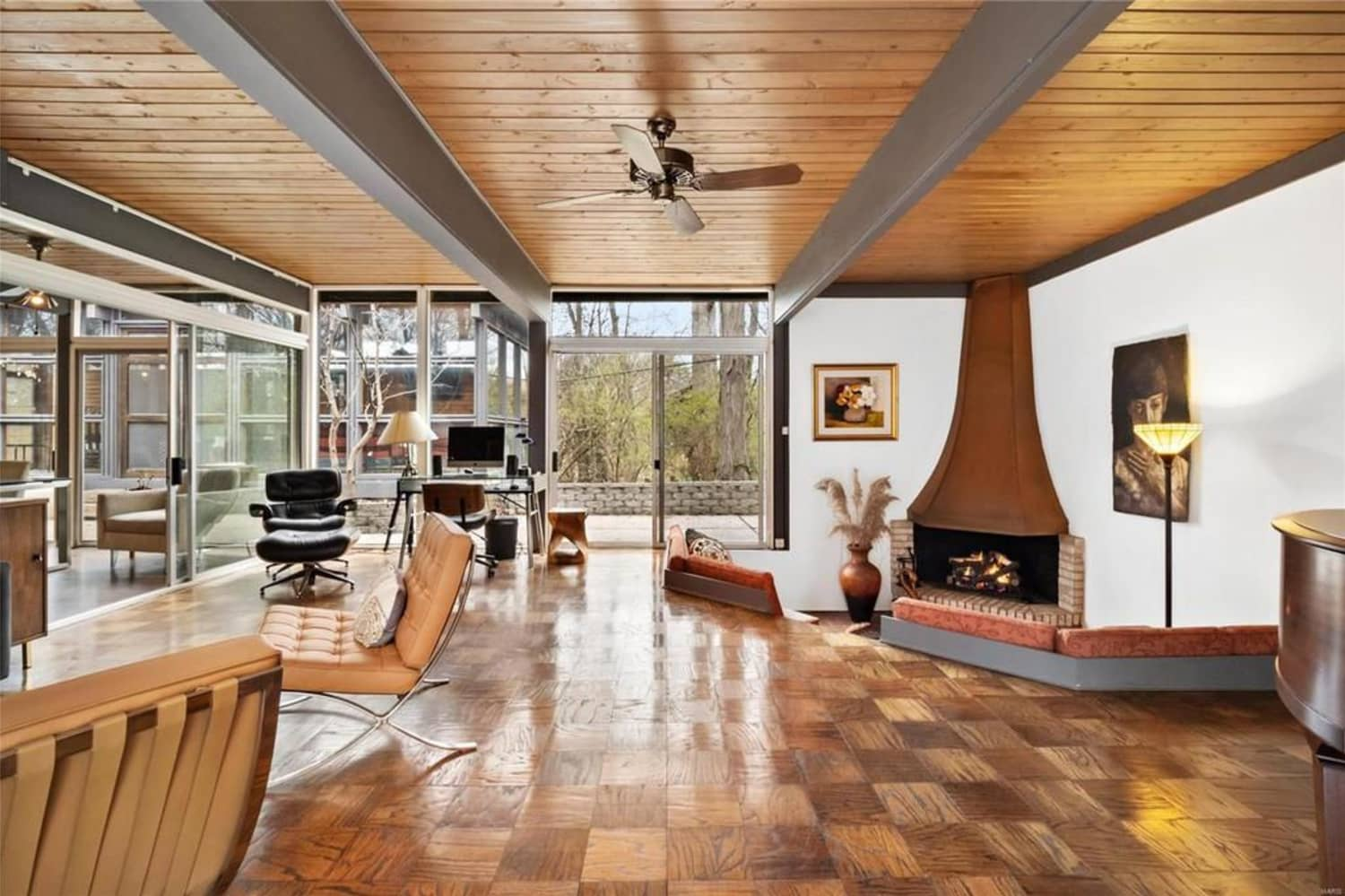 8 Mid-Century Modern Houses for Sale for Under $300,000