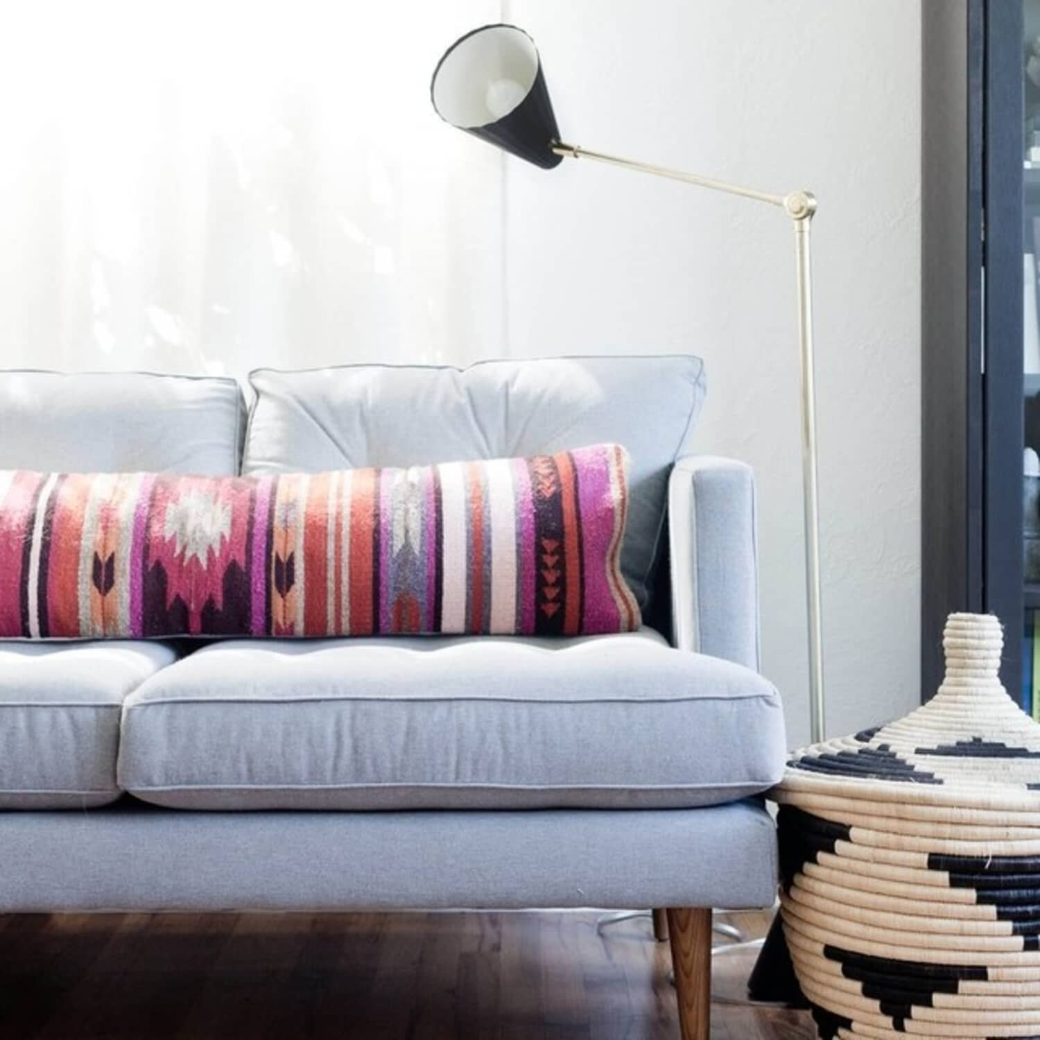 The Best Way to Decorate Your Living Room Sofa | Apartment ...