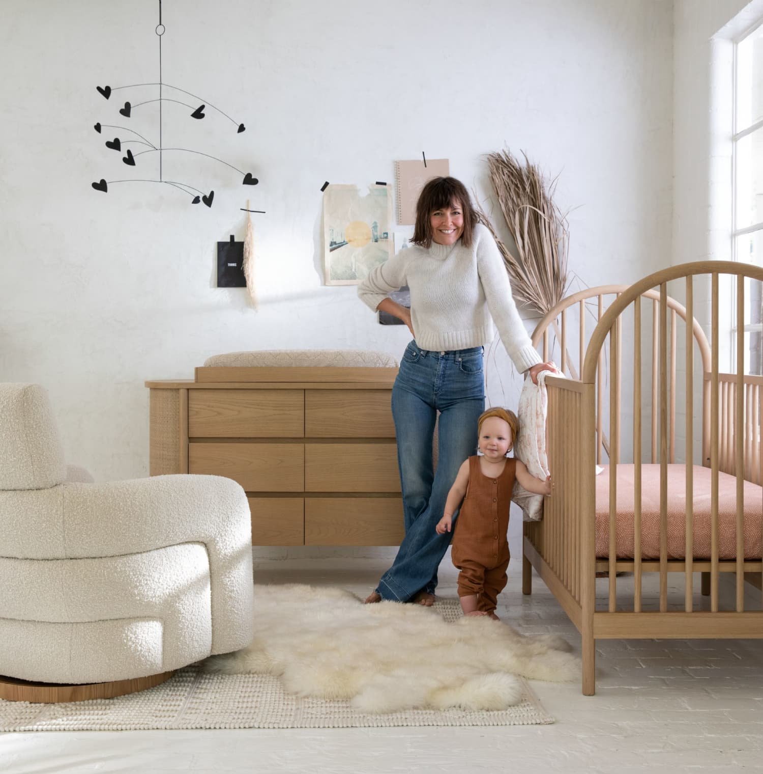 Leanne Ford's New Crate & Barrel Collection Will Make You Want Nursery Furniture in Your Living Room