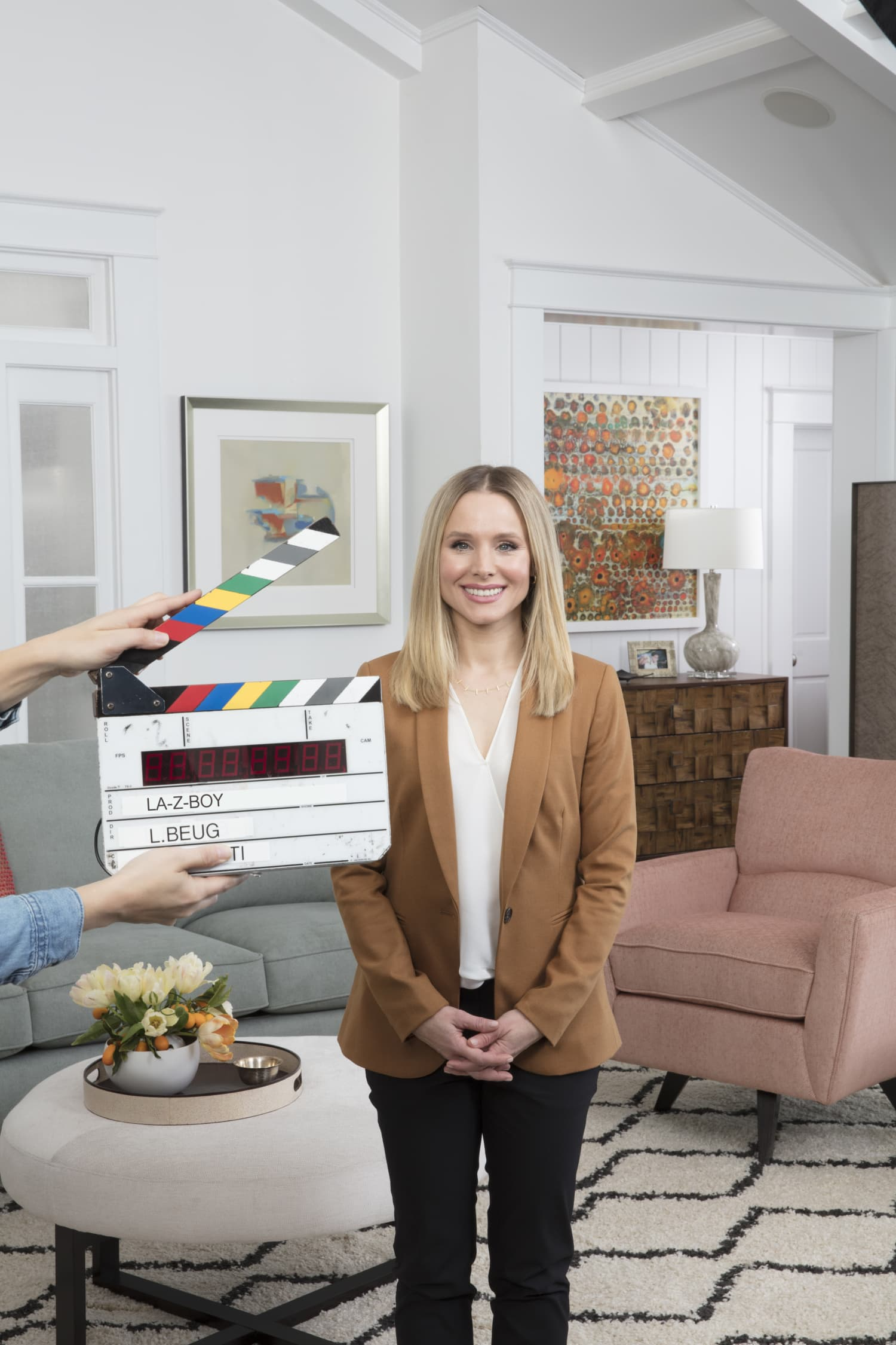 Kristen Bell La Z Boy Ambassador Commercial Recliner Fight