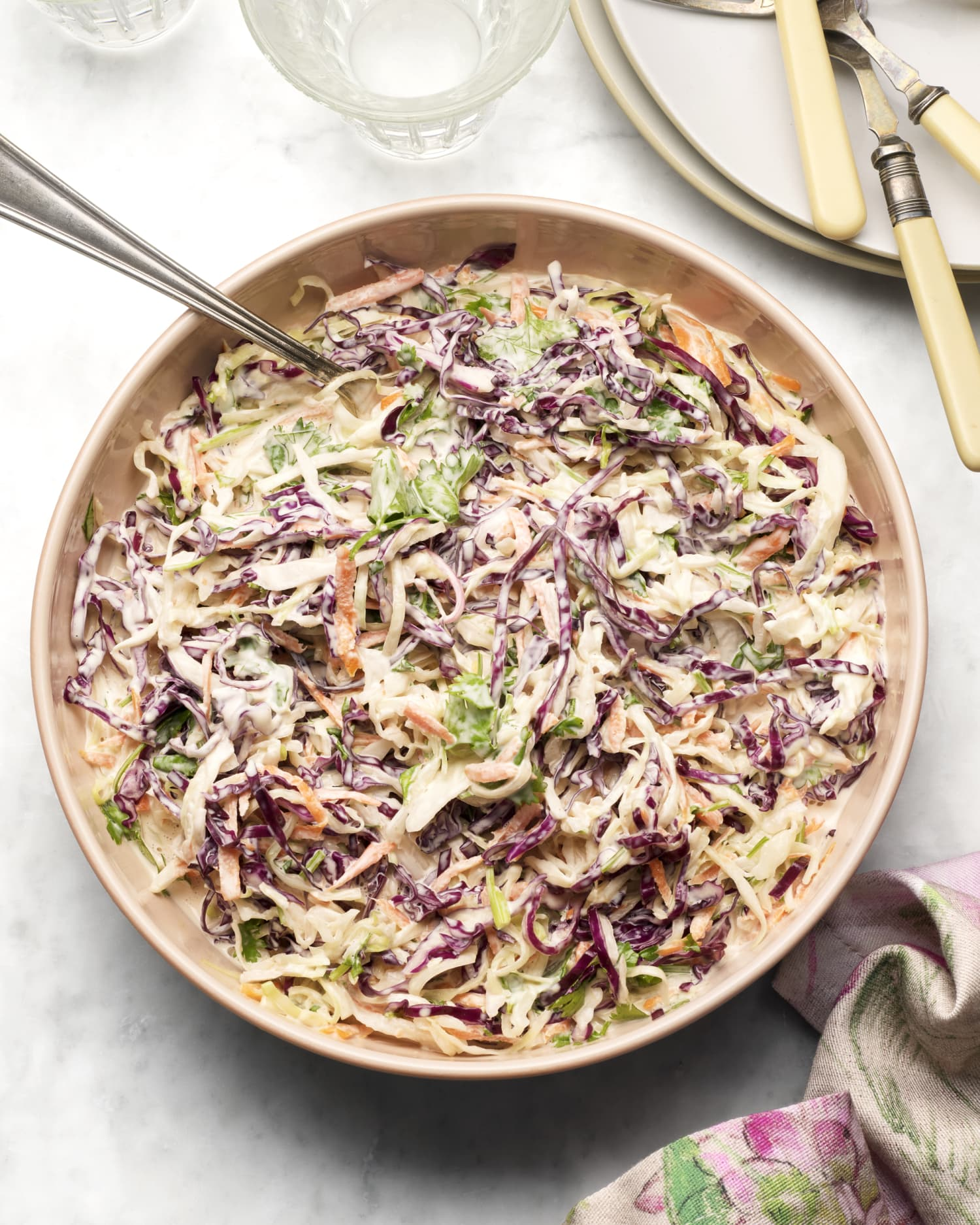 Cilantro Lime Coleslaw Is a Make-Ahead Side That Will Get Major Attention